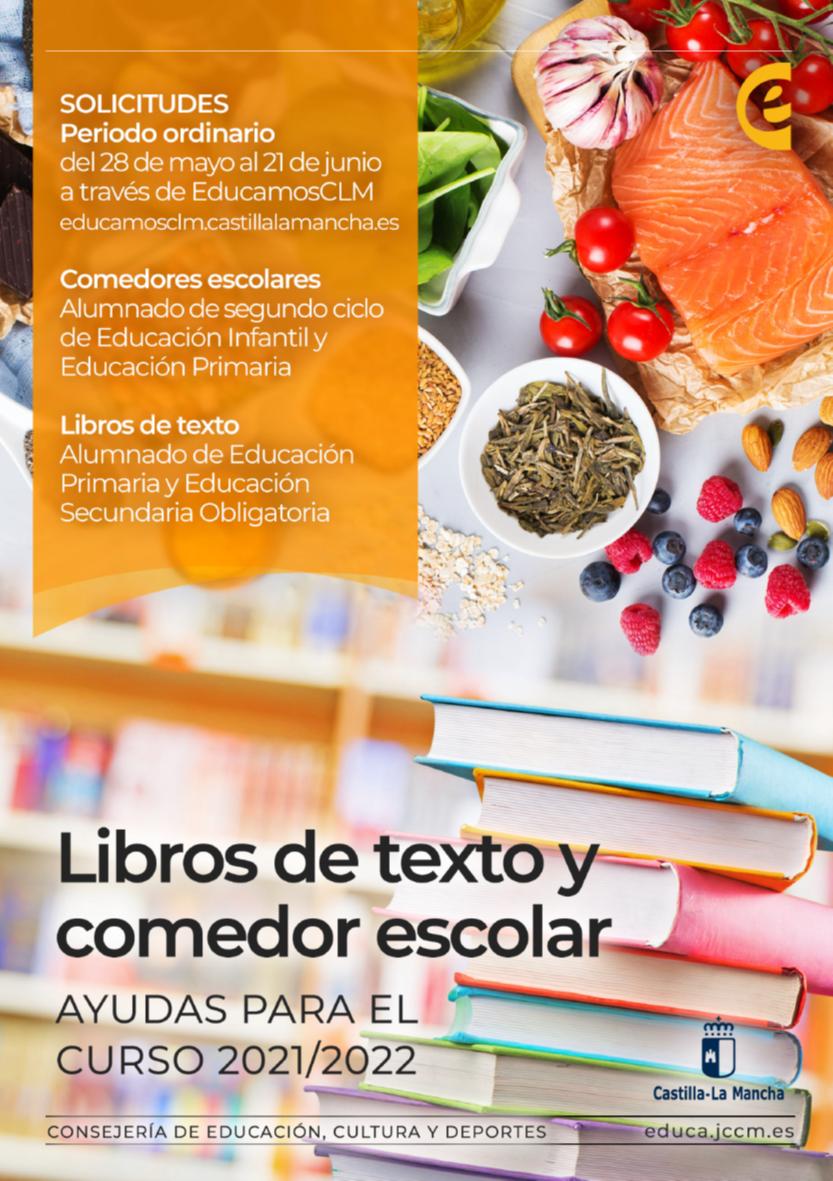 Ayudas para comedores y libros
