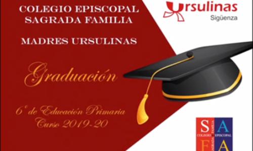 Graduación de los alumnos de 6º de Primaria de madres Ursulinas