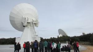 visita al centro astronómico de yebes colegio safa sigüenza