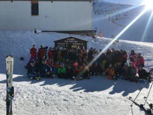 Excursión a la Pinilla con los alumnos de 1º y 2º de ESO