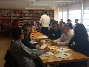 1º Sesión Formación Profesores en Dirección de Centros Educativos