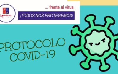Frente al virus, todos nos protegemos. Protocolo COVID-19
