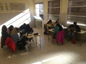 Los alumnos de Bachillerato de Ciencias de la Naturaleza – Salud despiden el trimestre superando una Escape Room científica