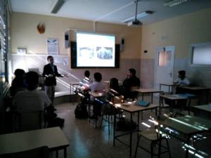 Visita de Jaime Gálvez, Catedrático de la Universidad Politécnica de Madrid