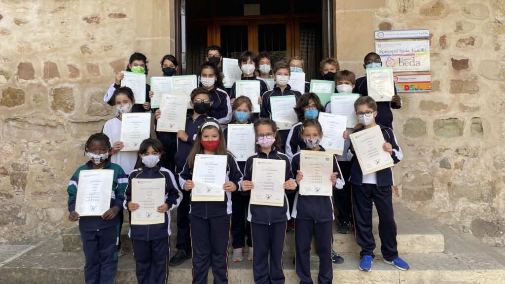 Certificados Cambridge Alumnos Primaria
