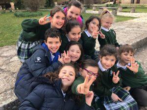alumnos primaria colegio sagrada familia sigüenza