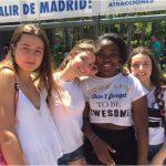alumnos safa siguenza parque atracciones madrid