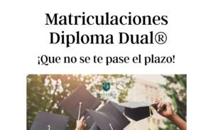 Matriculaciones Bachillerato Dual 2021-22