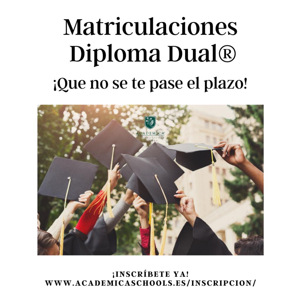 Matriculaciones Bachillerato Dual