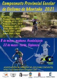 Campeonato Provincial Escolar Ciclismo de Montaña 2021 en Sigüenza