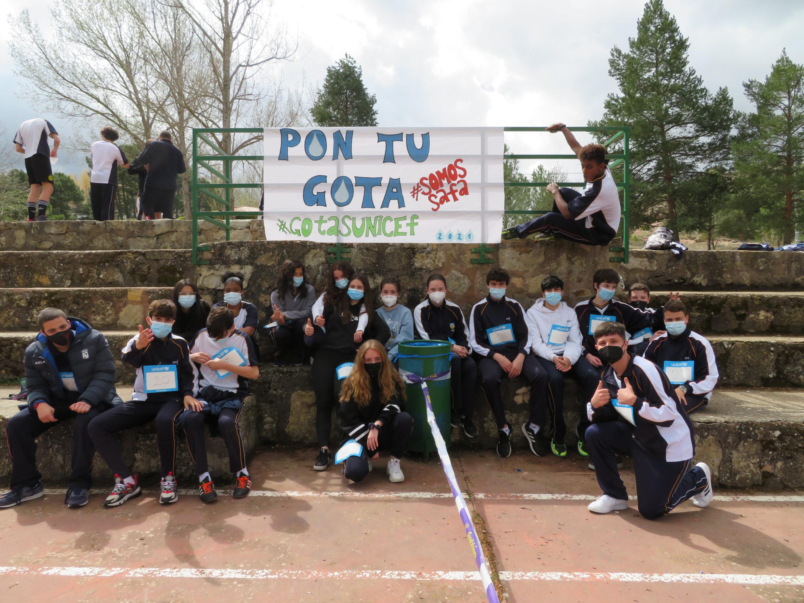 carrera solidaria gotas unicef 2021 safasi