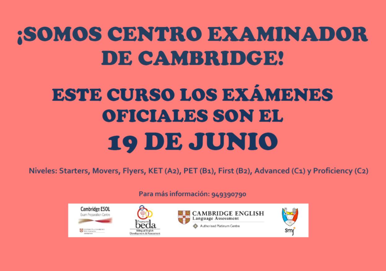 Exámenes Cambridge 2021