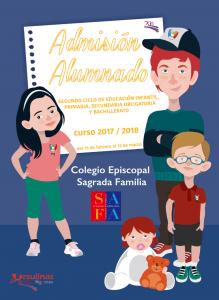 cartel matrícula curso 2017-2018 del colegio safa sigüenza