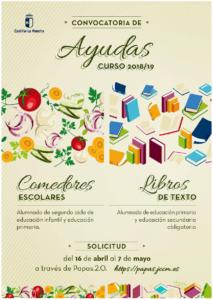 Becas Libros y Comedor Escolar