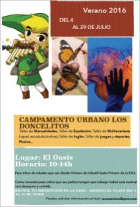 """Campamento Urbano 2016 """"Los Doncelitos"""""""