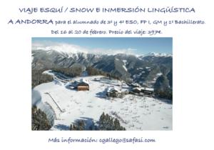 Excursiones a Andorra y Santoña 2020
