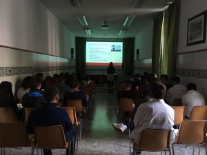 charla gestión del tiempo Colegio Sagrada Familia Sigüenza