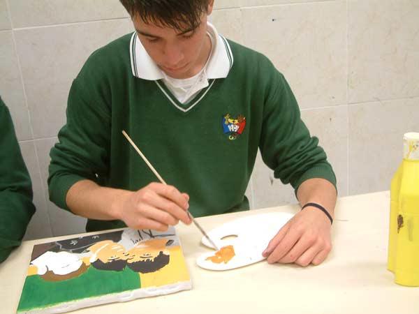 aula de dibujo colegio safa sigüenza