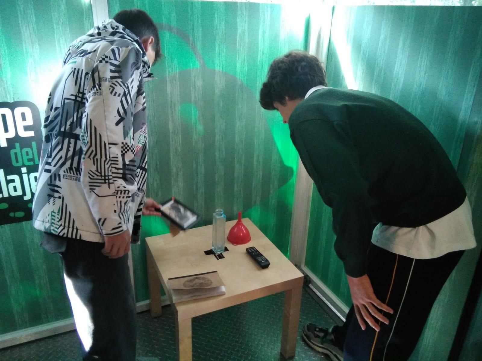escape room ecovidrio safa siguenza