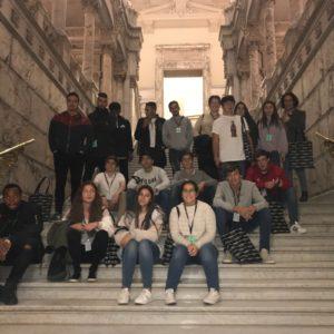Visita de 2ºBACH a Univ. Politécnica de Madrid y al Banco de España