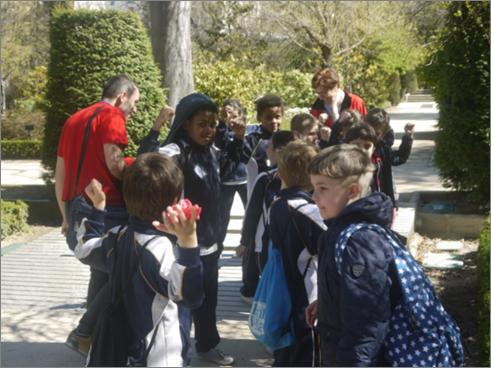 excursión alumnos 1 y 2 primaria colegio safa sigüenza