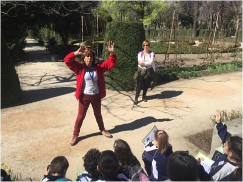 excursión alumnos 1 2 primaria colegio safa sigüenza