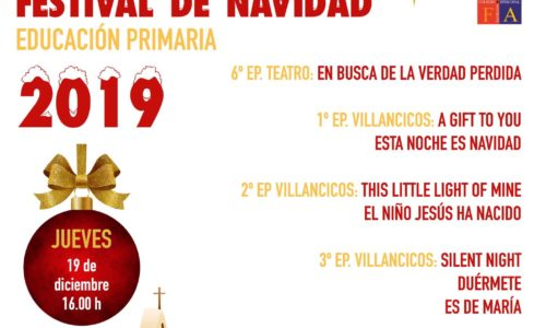 Festival Navidad E. Primaria 2019