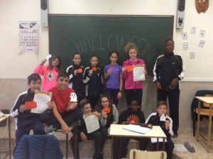 Halloween en la extraescolar de inglés