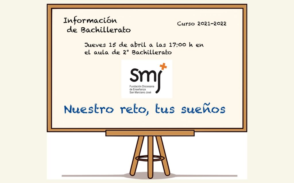 Información Bachillerato Curso 2021-22