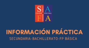 Información Práctica del Curso 2021-2022