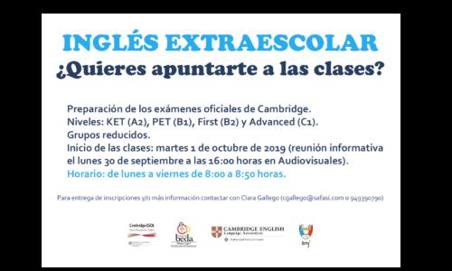 Inglés extraescolar