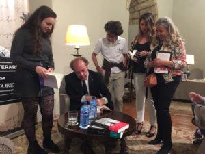 Noche Literaria en el Parador de Sigüenza con Javier Marías