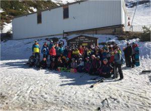 Jornada de esquí-snow en La Pinilla