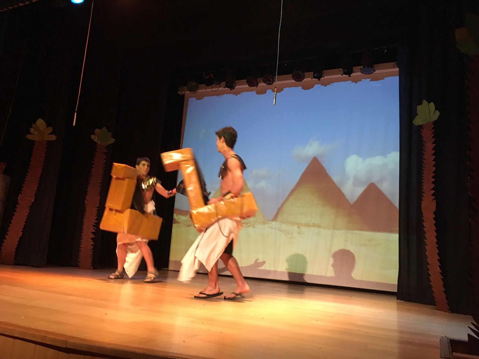 musical principe egipto ursulinas 2018