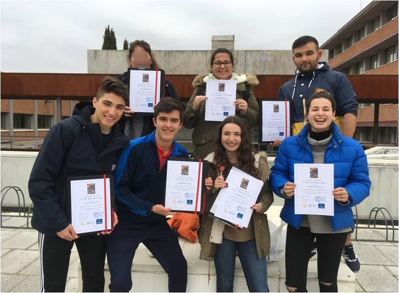 participación en la VIII olimpiada de geología de guadalajara del colegio safa sigüenza