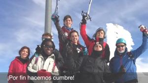 Ascensión invernal al Pico del Lobo (Guadalajara)