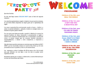 Programa english party