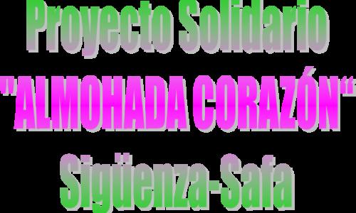 """Proyecto solidario  """"Almohada-Corazón"""""""