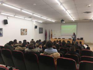 Excursión 2º BACH: Primer contacto con la Universidad