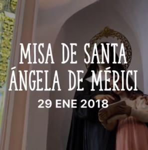 Celebración de Santa Ángela