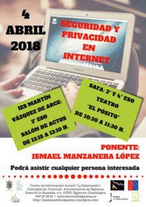 PonenciaSeguridad y Privacidad en Internet