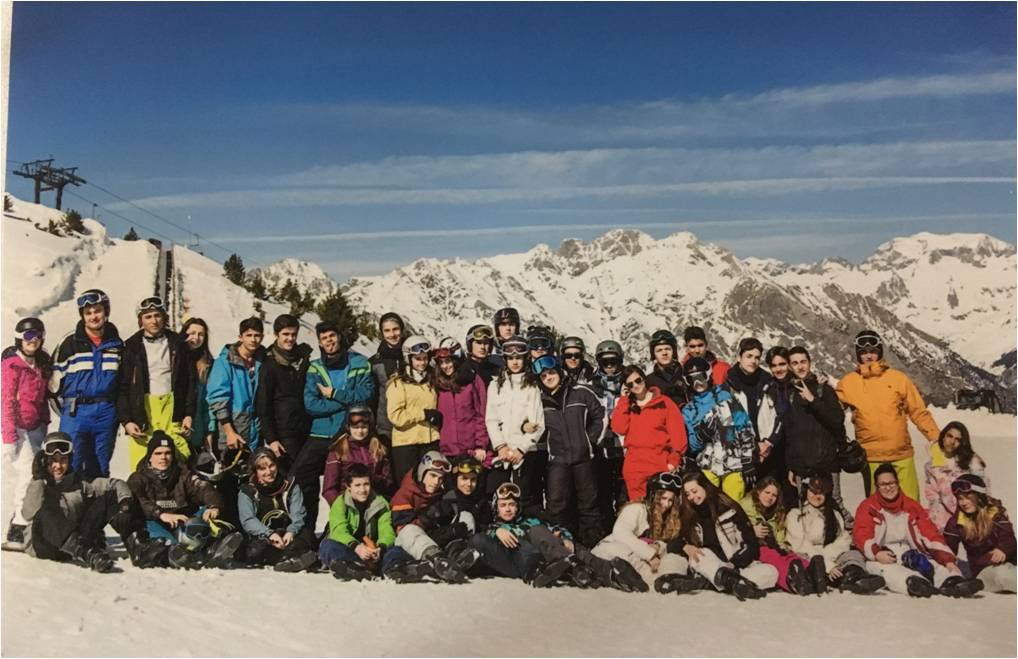 semana nieve colegio safa siguenza