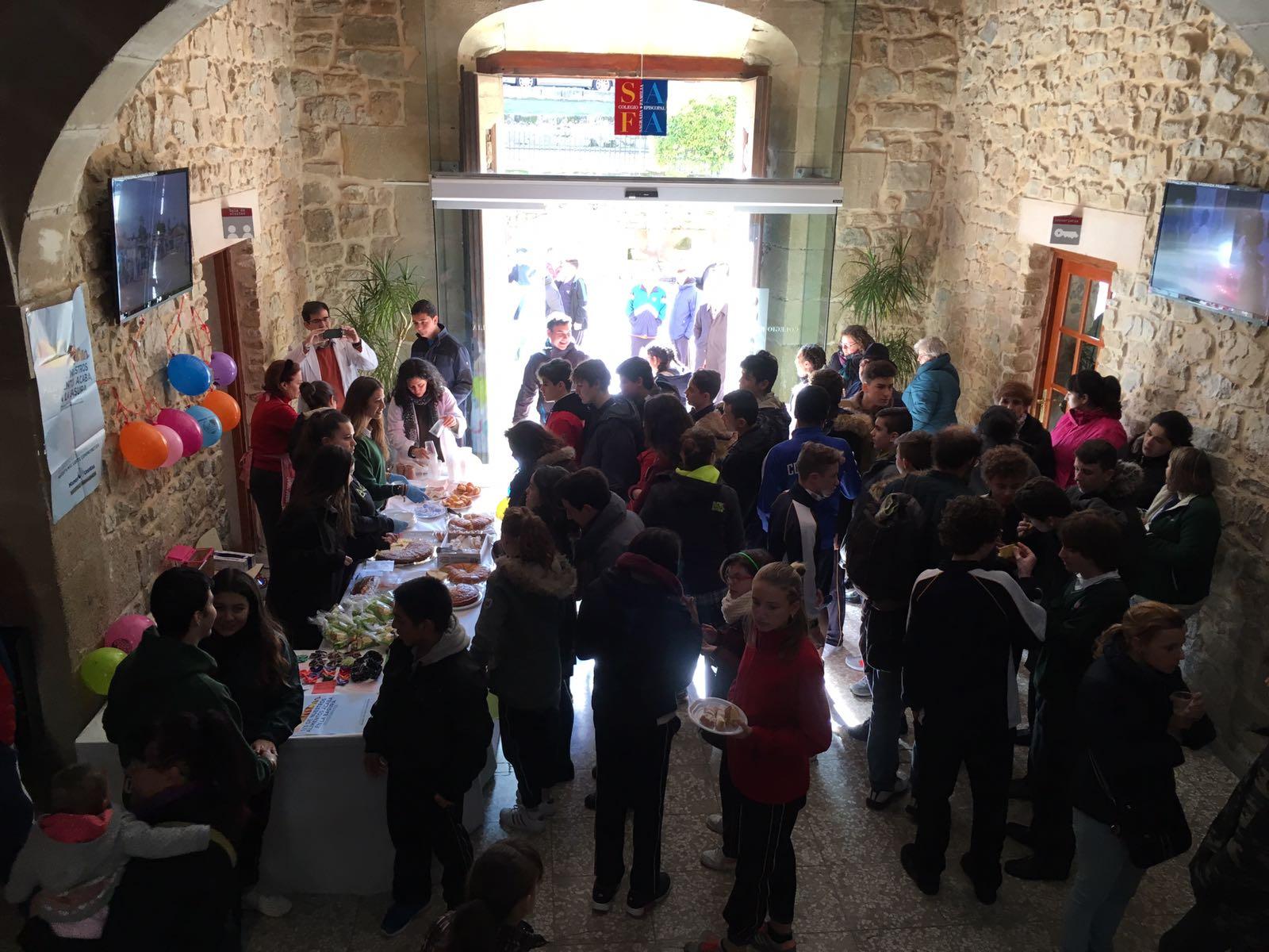 semana solidaria en el colegio safa sigüenza