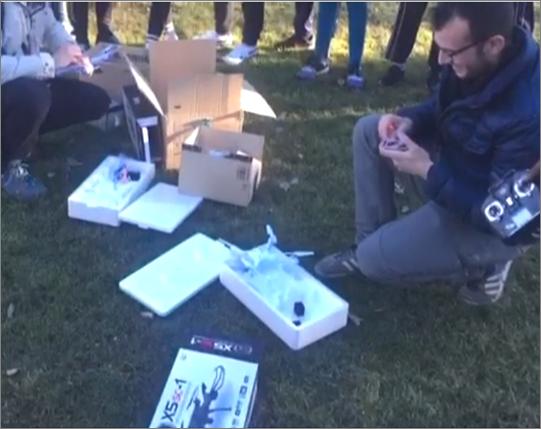 taller drones safa