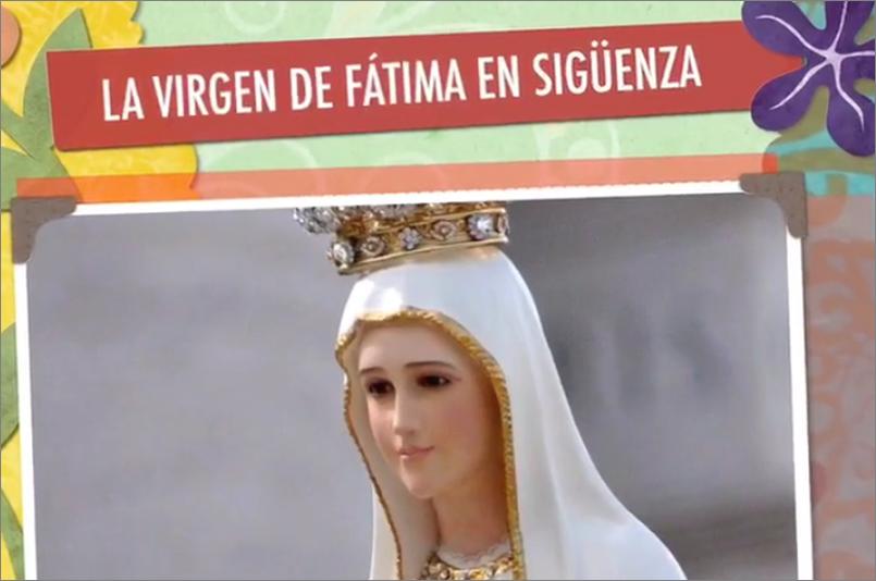 Virgen de Fátima en Sigüenza